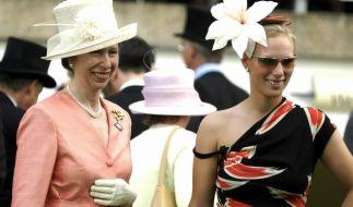 Prinzessin Anne und ihre Tochter Zara Tindall haben ein weiteres Familienmitglied bislang geschickt aus der Öffentlichkeit herausgehalten. (Foto)