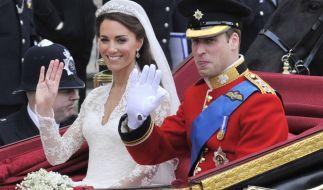 Queen Elizabeth II. hat eine Sache während der Hochzeit von Kate Middleton und Prinz William gestört. (Foto)