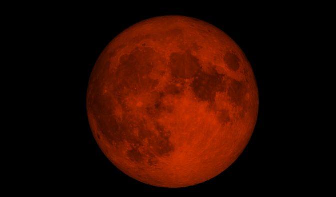 Totale Mondfinsternis im Mai 2021