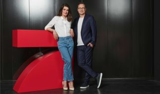 Linda Zervakis und Matthias Opdenhövel freuen sich auf ihre neue Show. (Foto)