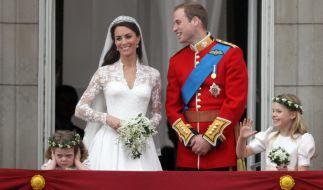 Seit dem 29. April 2011 sind Kate Middleton und Prinz William Mann und Frau. (Foto)