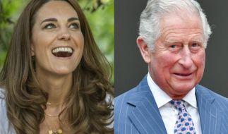 Nach den jüngsten Dramen können die Royals um Herzogin Kate und Prinz Charles endlich wieder lachen. (Foto)