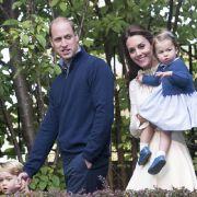 Kleine Prinzessin auf großer Reise: Prinzessin Charlotte im Herbst 2016 mit Kate Middleton, Prinz William und Prinz George zu Besuch in Kanada.