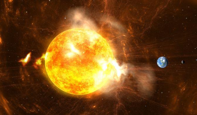 Sonnensturm im Mai 2021