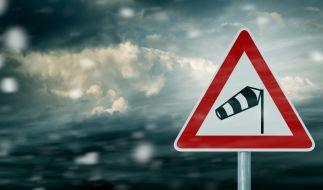 Sturmtief Eugen bringt nasses, kaltes und stürmisches Wetter. (Foto)