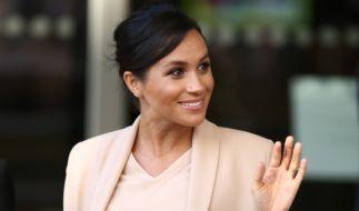 Meghan Markle erwartet ihr zweites Kind mit Prinz Harry. (Foto)