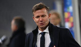 Salzburg-Trainer Jesse Marsch nach dem Spiel FC Salzburg - FC Bayern München in der Champions-League-Gruppenphase 2020. (Foto)
