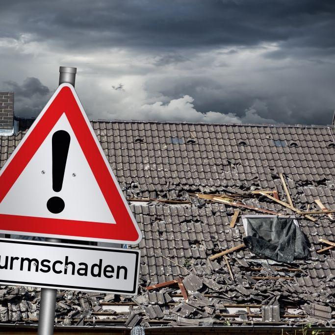 Corona-Testzelt umgeweht! Unwetter fegt über Deutschland (Foto)