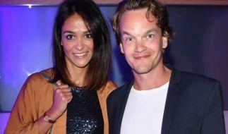 Ludwig Blochberger und seine Freundin Marta Buschy auf der Bertelsmann Party. (Foto)