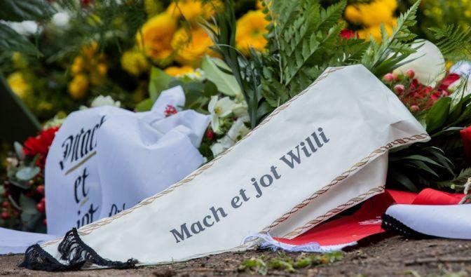 Willi Herren (†) beerdigt