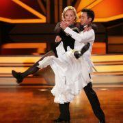 Marijke Amado tanzte 2013 mit Profitänzer Stefano Terrazzino bei
