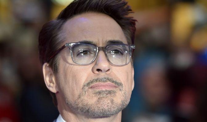 Robert Downey Jr. in Trauer
