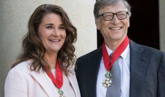Bei Melinda und Bill Gates soll es schon lange gekriselt haben. (Foto)