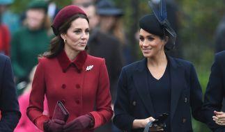 Der Schein trügt: Zwischen Kate Middleton und Meghan Markle wollte sich partout keine innige Freundschaft entspinnen. (Foto)