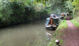 Im Grand-Union-Kanal im Nordwesten Londons wurde eine Babyleiche gefunden. (Foto)