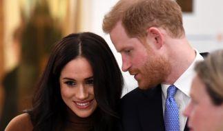 Prinz Harry lässt seine schwangere Ehefrau Meghan Markle bis zur Geburt des zweiten Kindes nicht mehr aus den Augen. (Foto)