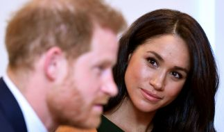 Meghan Markle und Prinz Harry gaben im November 2017 ihre Verlobung bekannt - damals hatte das Paar nur wenige Monate Fernbeziehung hinter sich. (Foto)
