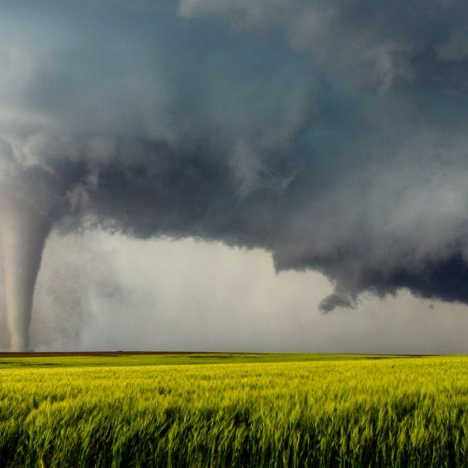 Es wird ungemütlich! HIER herrscht heute Tornadogefahr (Foto)