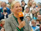 """Andrea Kiewel kommt nicht bei allen """"Fernsehgarten""""-Zuschauern gut an. (Foto)"""