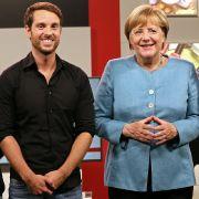 Mirko Drotschmann interviewte Angela Merkel anlässlich der Bundestagswahl 2017.