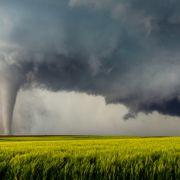 Im Frühjahr kommt es vermehrt zu Typ-2-Tornados.