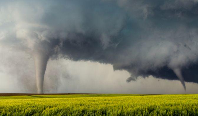 Tornado-Alarm in Deutschland