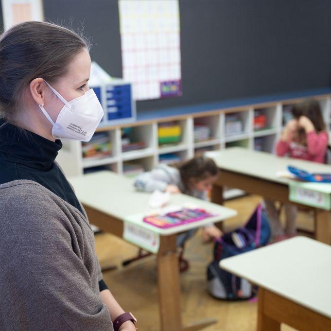 Bundesweite FFP2-Maskenpflicht für Kinder soll fallen (Foto)