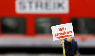 Die GDL droht mit Warnstreiks an Pfingsten. (Foto)