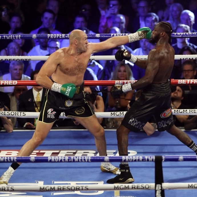 Corona! Boxkampf Fury gegen Wilder muss wohl verschoben werden (Foto)
