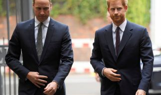 Die Stimmung zwischen Prinz William und Prinz Harry ist frostig. (Foto)