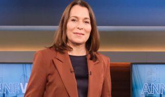 Anne Will geht am 30. Mai das nächste Mal auf Sendung. (Foto)