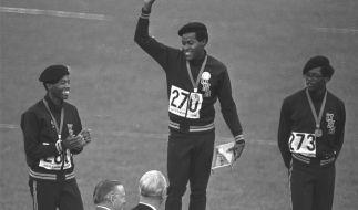 Der zweifache Olympiasieger Lee Evans ist verstorben. (Foto)