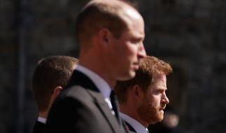 William und Harry sind sich einig in der Kritik an der BBC. (Foto)