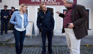 """Dieter Fischer (r) als Hauptkommissar Anton Stadler in die """"Rosenheim-Cops"""". (Foto)"""