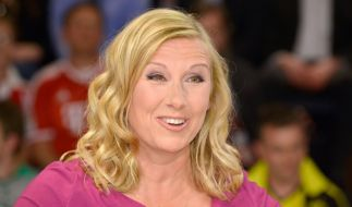 """Im """"ZDF Fernsehgarten"""" vom 23. Mai löste Andrea Kiewel wilde Fantasien bei den Zuschauern aus. (Foto)"""