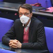 Karl Lauterbach meldete dem Bundestag versäumte Einkünfte nach und machte dies auf Twitter öffentlich. (Foto)