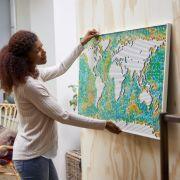 Die Lego Art World Map ist das größte Set aller Zeiten. (Foto)