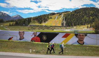 Die deutsche Fußball-Nationalmannschaft bereitet sich im Trainingslager in Seefeld (Tirol) auf die EM 2021 vorbei. (Foto)