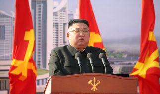 Kim Jong-un greift mit voller Härte gegen antisozialistisches Verhalten durch. (Foto)
