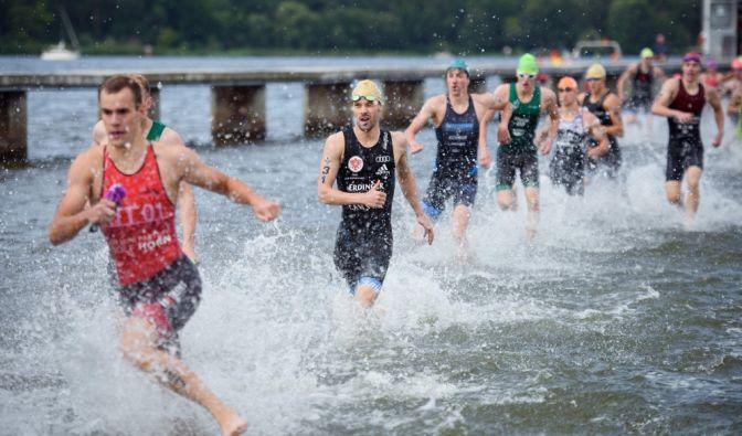 Triathlon-DM in Berlin 2021
