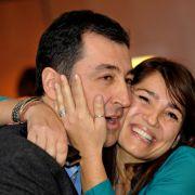 """""""Liebe auf den ersten Blick!"""" So lebt der Grünen-Politiker mit seiner Frau (Foto)"""