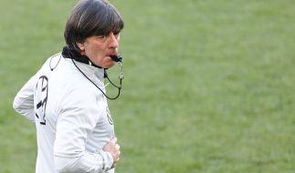 Klarer Fokus auf die EM 2021: Die deutsche Fußball-Nationalmannschaft von Bundestrainer Joachim Löw musste am 2. Juni zum Testspiel gegen Dänemark ran. (Foto)