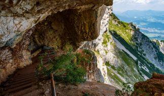 In den Berchtesgadener Alpen kam es zu einem Kletter-Unfall. (Foto)