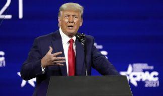 Donald Trump würde China für den Ausbruch des Coronavirus zahlen lassen. (Foto)