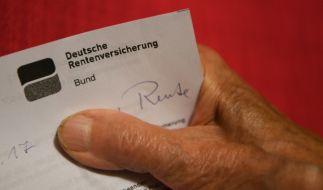 Deutschlands Rentner müssen sich in diesem Sommer auf eine Nullrunde anstatt auf eine Rentenerhöhung gefasst machen. (Foto)