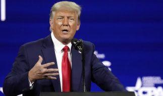 Donald Trump legte in dieser Woche wieder einige Schocker hin. (Foto)