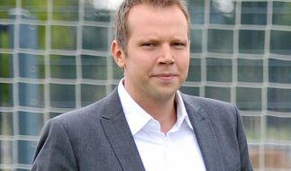 Kommentator Wolff-Christoph Fuss berichtet meistens über Fußballspiele. (Foto)