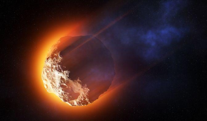 Asteroiden-Schock