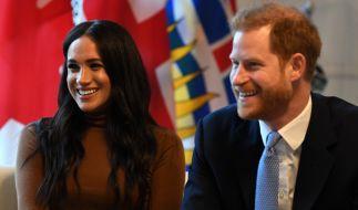 Meghan Markle und Prinz Harry sind zum zweiten Mal Eltern geworden. (Foto)