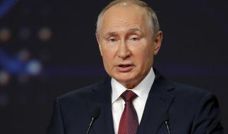 Wladimir Putin verkündete den Rückzug Russlands aus dem Open-Skies-Abkommen. (Foto)